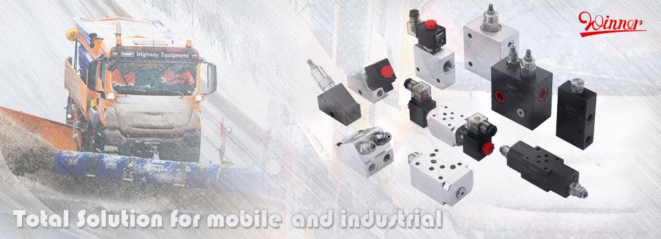 Cartridge Valves, Solenoid Operated Valves, Manifolds, Power